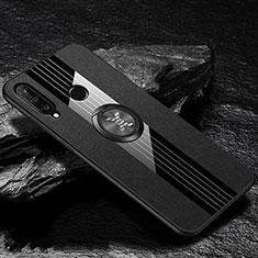 Custodia Silicone Ultra Sottile Morbida 360 Gradi Cover C05 per Huawei P30 Lite Nero