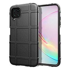 Custodia Silicone Ultra Sottile Morbida 360 Gradi Cover C05 per Huawei P40 Lite Nero