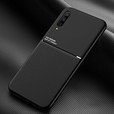 Custodia Silicone Ultra Sottile Morbida 360 Gradi Cover C05 per Samsung Galaxy A70 Nero
