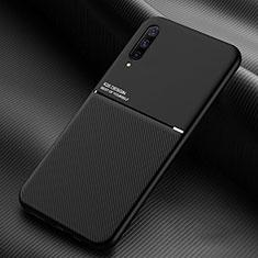 Custodia Silicone Ultra Sottile Morbida 360 Gradi Cover C05 per Samsung Galaxy A70S Nero