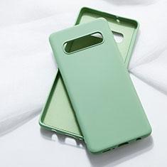 Custodia Silicone Ultra Sottile Morbida 360 Gradi Cover C05 per Samsung Galaxy S10 Verde