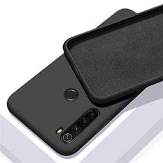 Custodia Silicone Ultra Sottile Morbida 360 Gradi Cover C05 per Xiaomi Redmi Note 8 Nero