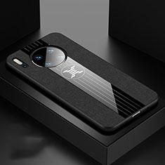 Custodia Silicone Ultra Sottile Morbida 360 Gradi Cover C06 per Huawei Mate 30 Nero