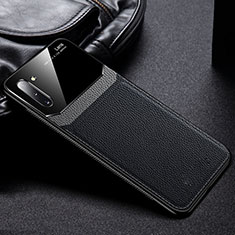 Custodia Silicone Ultra Sottile Morbida 360 Gradi Cover C06 per Samsung Galaxy Note 10 5G Nero