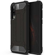 Custodia Silicone Ultra Sottile Morbida 360 Gradi Cover C09 per Huawei P30 Nero