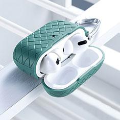 Custodia Silicone Ultra Sottile Morbida 360 Gradi Cover per Apple AirPods Pro Verde