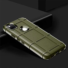 Custodia Silicone Ultra Sottile Morbida 360 Gradi Cover per Google Pixel 4a Verde