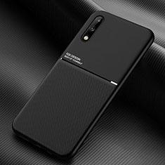 Custodia Silicone Ultra Sottile Morbida 360 Gradi Cover per Huawei Enjoy 10 Nero