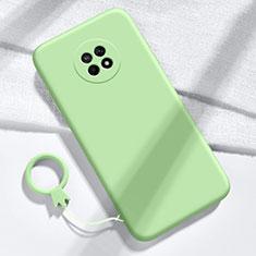Custodia Silicone Ultra Sottile Morbida 360 Gradi Cover per Huawei Enjoy 20 Plus 5G Verde