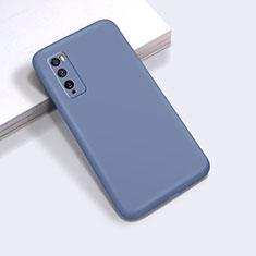 Custodia Silicone Ultra Sottile Morbida 360 Gradi Cover per Huawei Enjoy 20 Pro 5G Grigio