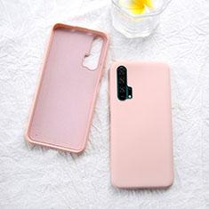 Custodia Silicone Ultra Sottile Morbida 360 Gradi Cover per Huawei Honor 20 Pro Oro Rosa