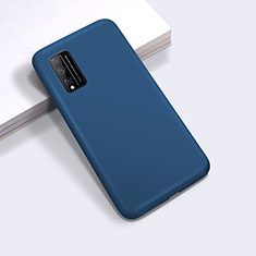 Custodia Silicone Ultra Sottile Morbida 360 Gradi Cover per Huawei Honor Play4T Pro Blu