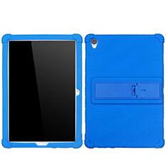 Custodia Silicone Ultra Sottile Morbida 360 Gradi Cover per Huawei MediaPad M6 10.8 Blu