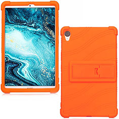 Custodia Silicone Ultra Sottile Morbida 360 Gradi Cover per Huawei MediaPad M6 8.4 Arancione