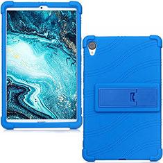 Custodia Silicone Ultra Sottile Morbida 360 Gradi Cover per Huawei MediaPad M6 8.4 Blu
