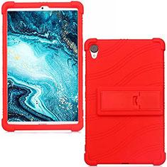 Custodia Silicone Ultra Sottile Morbida 360 Gradi Cover per Huawei MediaPad M6 8.4 Rosso