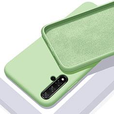 Custodia Silicone Ultra Sottile Morbida 360 Gradi Cover per Huawei Nova 5T Verde