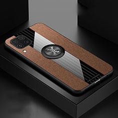 Custodia Silicone Ultra Sottile Morbida 360 Gradi Cover per Huawei P40 Lite Marrone