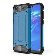 Custodia Silicone Ultra Sottile Morbida 360 Gradi Cover per Huawei Y5 (2019) Blu