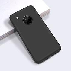 Custodia Silicone Ultra Sottile Morbida 360 Gradi Cover per Huawei Y9a Nero