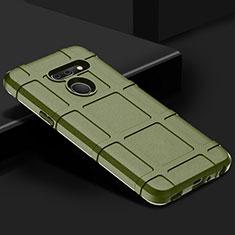 Custodia Silicone Ultra Sottile Morbida 360 Gradi Cover per LG G8 ThinQ Verde