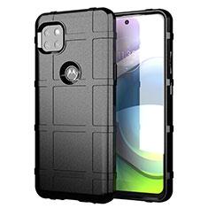 Custodia Silicone Ultra Sottile Morbida 360 Gradi Cover per Motorola Moto G 5G Nero