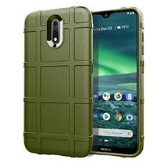 Custodia Silicone Ultra Sottile Morbida 360 Gradi Cover per Nokia 2.3 Verde