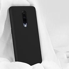 Custodia Silicone Ultra Sottile Morbida 360 Gradi Cover per OnePlus 7 Pro Nero