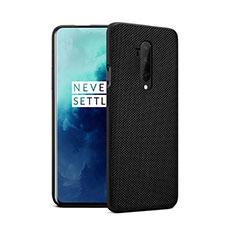 Custodia Silicone Ultra Sottile Morbida 360 Gradi Cover per OnePlus 7T Pro Nero