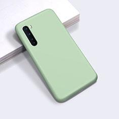 Custodia Silicone Ultra Sottile Morbida 360 Gradi Cover per OnePlus Nord Verde Pastello