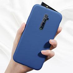 Custodia Silicone Ultra Sottile Morbida 360 Gradi Cover per Oppo Reno 10X Zoom Blu