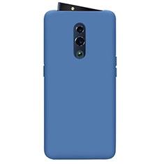 Custodia Silicone Ultra Sottile Morbida 360 Gradi Cover per Oppo Reno Blu