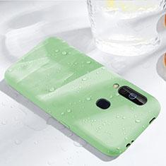 Custodia Silicone Ultra Sottile Morbida 360 Gradi Cover per Samsung Galaxy A60 Verde