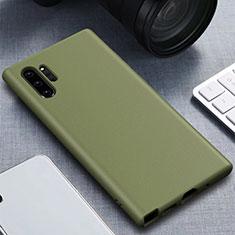 Custodia Silicone Ultra Sottile Morbida 360 Gradi Cover per Samsung Galaxy Note 10 Plus Verde