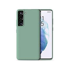 Custodia Silicone Ultra Sottile Morbida 360 Gradi Cover per Samsung Galaxy S21 5G Verde