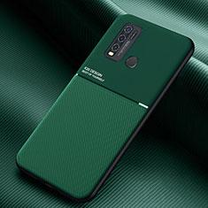 Custodia Silicone Ultra Sottile Morbida 360 Gradi Cover per Vivo Y50 Verde