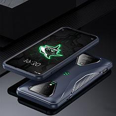 Custodia Silicone Ultra Sottile Morbida 360 Gradi Cover per Xiaomi Black Shark 3 Pro Blu