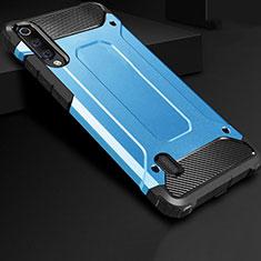 Custodia Silicone Ultra Sottile Morbida 360 Gradi Cover per Xiaomi CC9e Blu