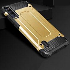 Custodia Silicone Ultra Sottile Morbida 360 Gradi Cover per Xiaomi CC9e Oro