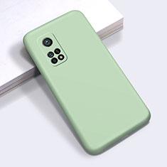 Custodia Silicone Ultra Sottile Morbida 360 Gradi Cover per Xiaomi Mi 10T 5G Verde Pastello