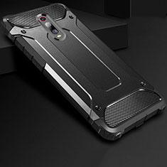 Custodia Silicone Ultra Sottile Morbida 360 Gradi Cover per Xiaomi Mi 9T Nero