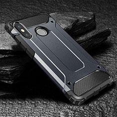 Custodia Silicone Ultra Sottile Morbida 360 Gradi Cover per Xiaomi Mi Max 3 Blu