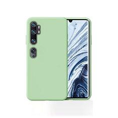 Custodia Silicone Ultra Sottile Morbida 360 Gradi Cover per Xiaomi Mi Note 10 Verde
