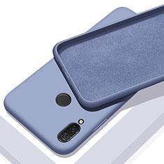 Custodia Silicone Ultra Sottile Morbida 360 Gradi Cover per Xiaomi Redmi 7 Cielo Blu