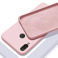 Custodia Silicone Ultra Sottile Morbida 360 Gradi Cover per Xiaomi Redmi 7 Oro Rosa