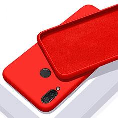 Custodia Silicone Ultra Sottile Morbida 360 Gradi Cover per Xiaomi Redmi 7 Rosso