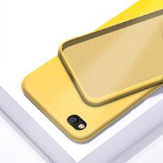 Custodia Silicone Ultra Sottile Morbida 360 Gradi Cover per Xiaomi Redmi Go Giallo