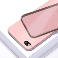 Custodia Silicone Ultra Sottile Morbida 360 Gradi Cover per Xiaomi Redmi Go Oro Rosa