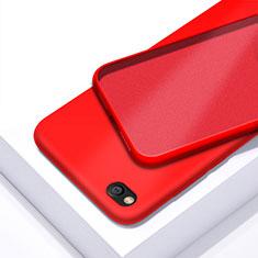 Custodia Silicone Ultra Sottile Morbida 360 Gradi Cover per Xiaomi Redmi Go Rosso