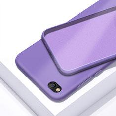 Custodia Silicone Ultra Sottile Morbida 360 Gradi Cover per Xiaomi Redmi Go Viola